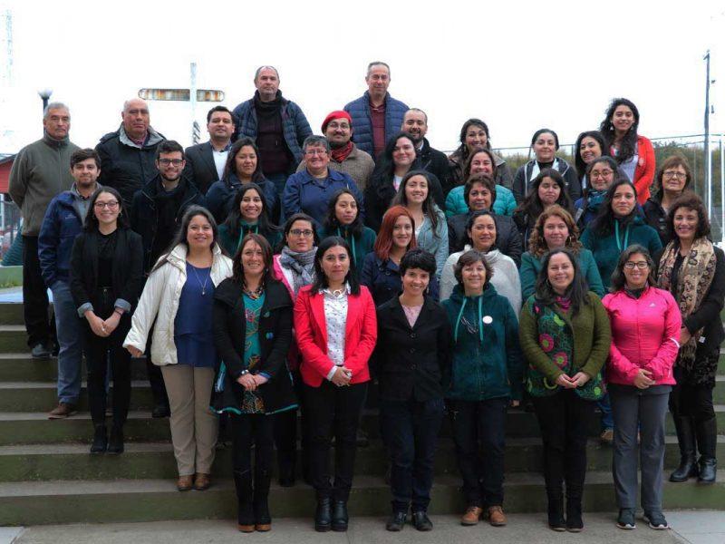 Profesionales que integran el equipo docente del establecimiento educacional