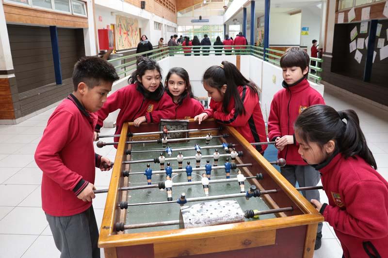 Convivencia Escolar vela por fomentar el buen trato entre los estudiantes del complejo educacional.