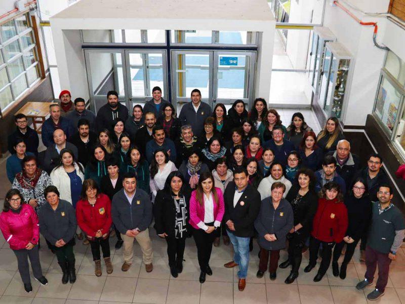 El Liceo Manuel Jesús Andrade cuenta con un gran equipo de profesionales y asistentes al servicio de la comunidad educativa.